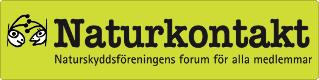 Länk till webbsidan Naturkontakt, forumet för alla medlemmar.