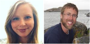 Mikaela Holm och Tobias Johansson